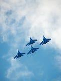 Gruppo Aerobatic. Fotografie Stock Libere da Diritti