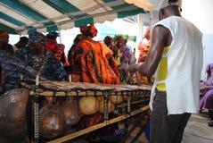 GRUPPO AFRICANO DI ARTE Immagine Stock Libera da Diritti