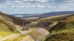 Gruppo anziano Smeltmill, North Yorkshire, Regno Unito immagine stock