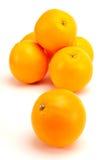 Gruppo arancione Fotografia Stock