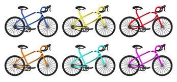 Gruppo arrotondato bici Fotografia Stock Libera da Diritti