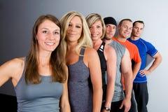 Gruppo in buona salute Fotografia Stock