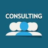Gruppo consultantesi illustrazione vettoriale