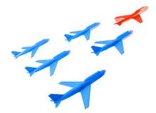 gruppo degli aerei Immagini Stock Libere da Diritti