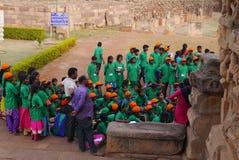 Gruppo degli studenti indiani della scuola Fotografie Stock