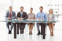 Gruppo degli ufficiali di personale corporativi in ufficio Fotografie Stock