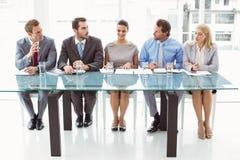 Gruppo degli ufficiali di personale corporativi in ufficio Immagini Stock