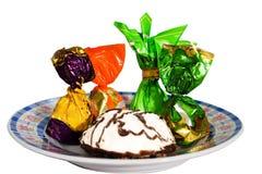Gruppo dei dolci della caramella Fotografia Stock Libera da Diritti