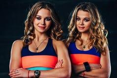 Gruppo dei gemelli di sport Fotografia Stock
