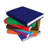 Gruppo dei libri Fotografie Stock