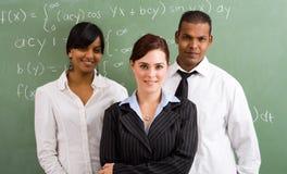 Gruppo dei maestri di scuola Immagine Stock Libera da Diritti