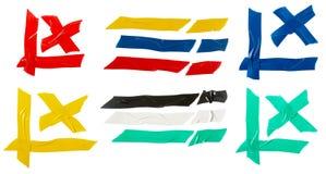Gruppo del nastro di colore Fotografia Stock Libera da Diritti