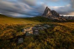 Gruppo del Nuvolau, Dolomites stock images