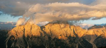 Gruppo del Sorapis, Tirol sul, montanhas das dolomites Fotos de Stock Royalty Free