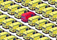 Gruppo dell'ambulanza Fotografie Stock