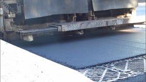 Gruppo dell'asfalto stock footage