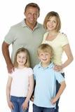 Gruppo della famiglia felice insieme Immagini Stock Libere da Diritti