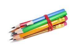 Gruppo delle matite fotografia stock