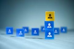 Gruppo delle risorse umane Immagini Stock