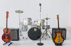 Gruppo dello strumento musicale immagini stock