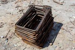 Gruppo di acciaio del cavo Immagine Stock Libera da Diritti