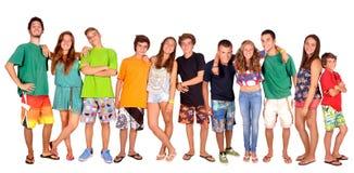 Gruppo di adolescenti fotografia stock libera da diritti