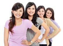Gruppo di adolescenti felici fotografie stock