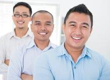 Gruppo di affari asiatico sudorientale Fotografia Stock