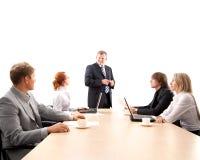 Gruppo di affari che lavora ad un progetto Fotografie Stock