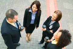 Gruppo di affari di diversità Immagini Stock