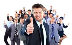 Gruppo di affari felice Immagine Stock