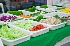 Gruppo di alimento vegettarian Fotografia Stock