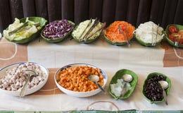 Gruppo di alimento vegettarian Fotografia Stock Libera da Diritti