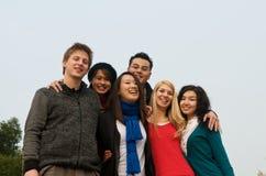 Gruppo di allievi Fotografie Stock