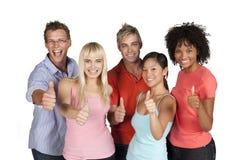 Gruppo di allievi felici Immagine Stock Libera da Diritti