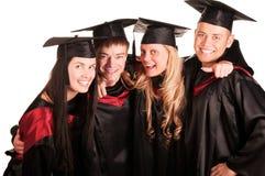 Gruppo di allievi felici Immagine Stock