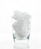 Gruppo di allume in vetro Fotografia Stock