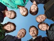 Gruppo di amici Fotografie Stock