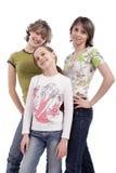 Gruppo di anni dell'adolescenza Immagine Stock