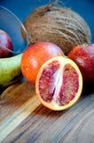 Gruppo di arance sanguinelle Immagini Stock Libere da Diritti