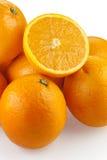 Gruppo di arance Fotografie Stock