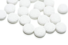 Gruppo di aspirina Fotografia Stock