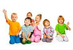 Gruppo di bambini Immagine Stock
