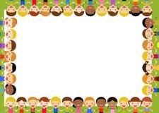 Gruppo di bambini - Fotografia Stock
