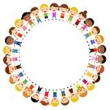 Gruppo di bambini - Fotografie Stock