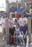 Gruppo di bambini etnico vario Fotografia Stock Libera da Diritti