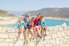 Gruppo di bambini svegli fotografie stock libere da diritti