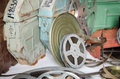 Gruppo di bobine di film Immagini Stock