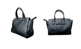 Gruppo di borsa di cuoio della donna Fotografie Stock