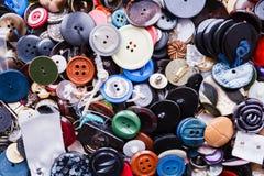 Gruppo di bottoni variopinti Immagini Stock Libere da Diritti